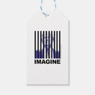 Imagine Trump Behind Bars Gift Tags