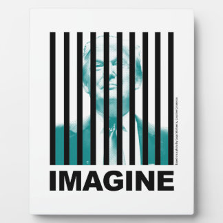 Imagine Trump Behind Bars Plaque