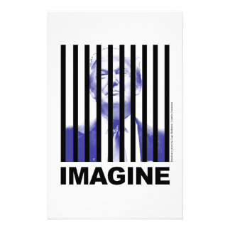 Imagine Trump Behind Bars Stationery