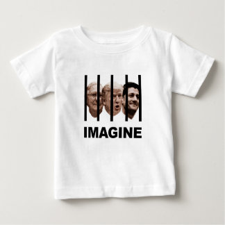 Imagine Trump, McConnell and Ryan Behind Bars Baby T-Shirt