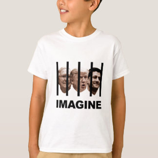 Imagine Trump, McConnell and Ryan Behind Bars T-Shirt