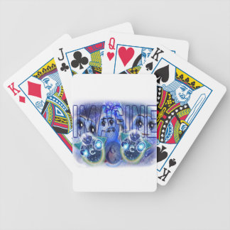 IMAGINE YOURSELF CALM WELL RELAXED BICYCLE PLAYING CARDS
