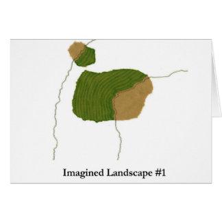 Imagined Landscape #1 Card