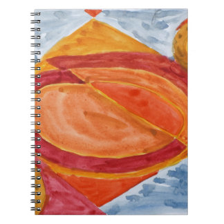 Imagining the Sun on a Rainy Day Notebook
