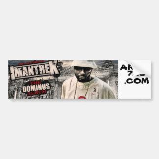 imantrek dominus banner, AREA, 726, .COM Bumper Sticker