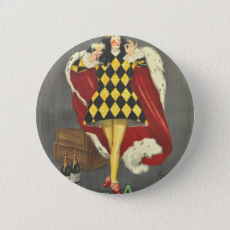 Imbibed by Royalty 6 Cm Round Badge