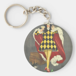 Imbibed by Royalty Key Ring