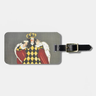 Imbibed by Royalty Luggage Tag