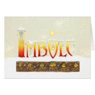 Imbolc Drips Card