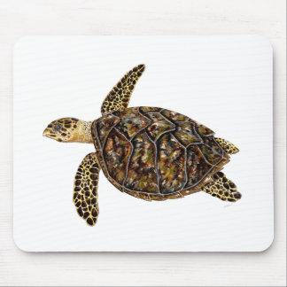 Imbricata turtle mouse pad