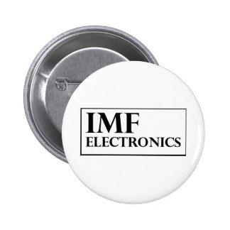 IMF Electronics logo Pinback Button