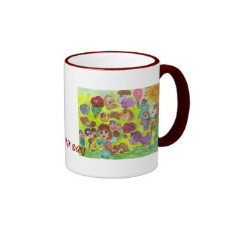 img054,  SUMMER DAY Coffee Mugs