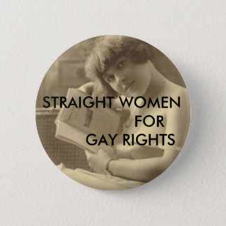Img110, STRAIGHT WOMEN                FOR      ... 6 Cm Round Badge