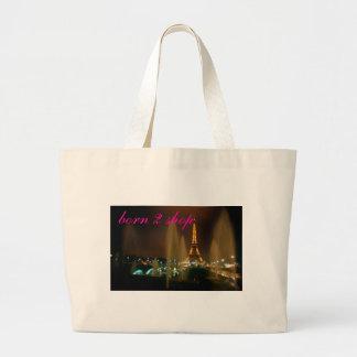 IMG4, born 2 shop Jumbo Tote Bag