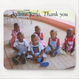 IMG_0061, Asante Sana, Thank you Mouse Pad