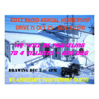IMG_0319, KOTZ RADIO ANNUAL MEMBERSHIPDRIVE IS ... FLYER
