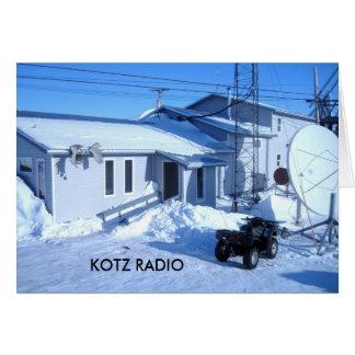 IMG_0319, KOTZ RADIO CARD
