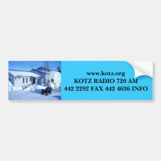 IMG_0319, www.kotz.orgKOTZ RADIO 720 AM442 2292... Bumper Sticker