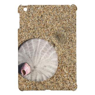 IMG_0578.JPG  Sandollar seashell on beach iPad Mini Case