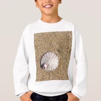 IMG_0578.JPG  Sandollar seashell on beach Sweatshirt