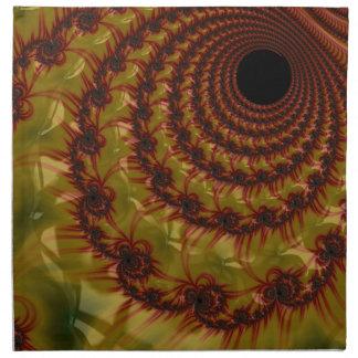 IMG_0642.JPGred and yellow black hole Napkin