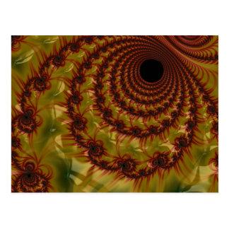 IMG_0642.JPGred and yellow black hole Postcard