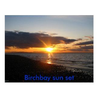IMG_0649, Birchbay sun set Postcard