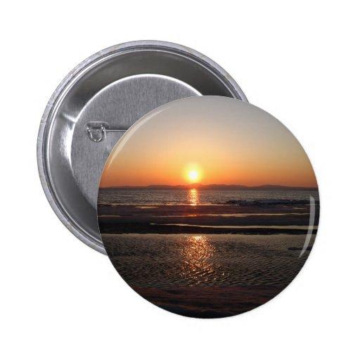 IMG_1043 Alaskan Sundown Pinback Button
