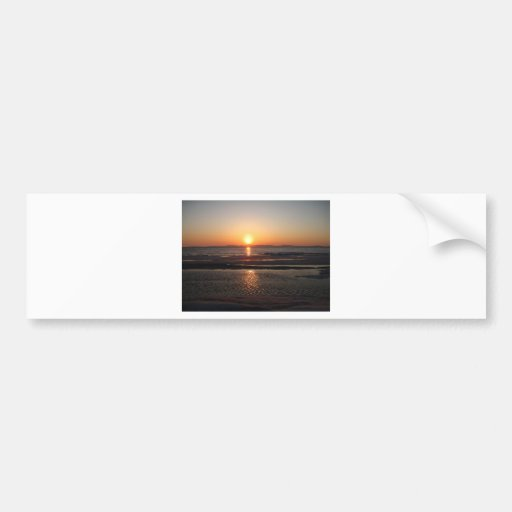 IMG_1043 Alaskan Sundown Bumper Sticker