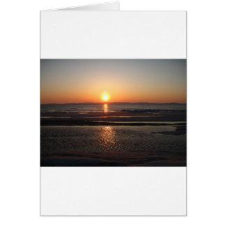 IMG_1043 Alaskan Sundown Greeting Card
