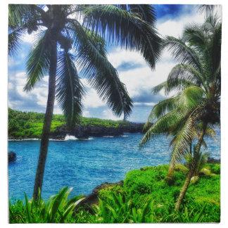 IMG_1122 4 Hawaiian Scene Napkin