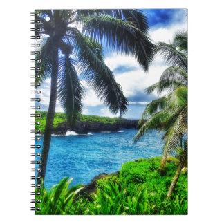 IMG_1122 4 Hawaiian Scene Spiral Notebook