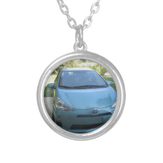 IMG_2140.JPG Prius Toyota car Silver Plated Necklace