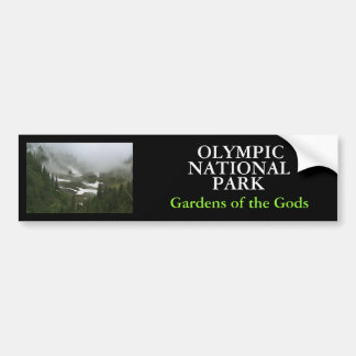 IMG_2155, OLYMPIC , NATIONAL, PARK, Gardens of ... Bumper Stickers