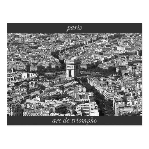 IMG_2588_2, arc de triomphe, paris Postcards