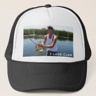 IMG_2702, I love Carp  - CarpKillers Inc. Trucker Hat