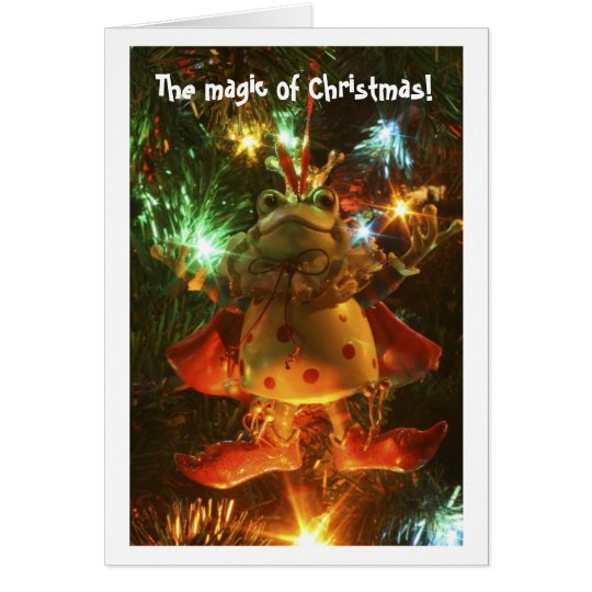 IMG_2713, The magic of Christmas! Card