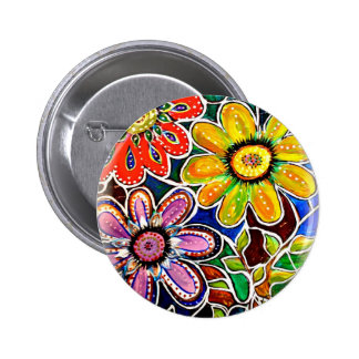 IMG_3097 jpg lass-like floral images Pinback Buttons