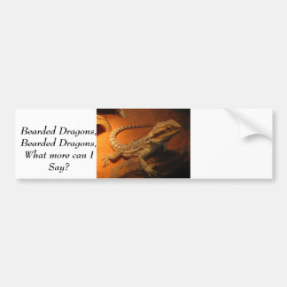 IMG_4705, Bearded Dragons,Bearded Dragons,What ... Bumper Sticker
