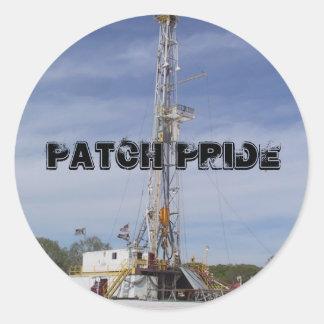 IMG_5264, Patch Pride Round Sticker