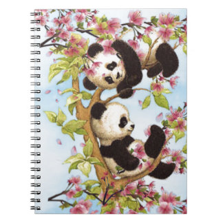 IMG_7386.PNG  cute and colorful panda designed Notebook