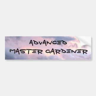 IMG_7406, ADVANCED, MASTER GARDENER BUMPER STICKER