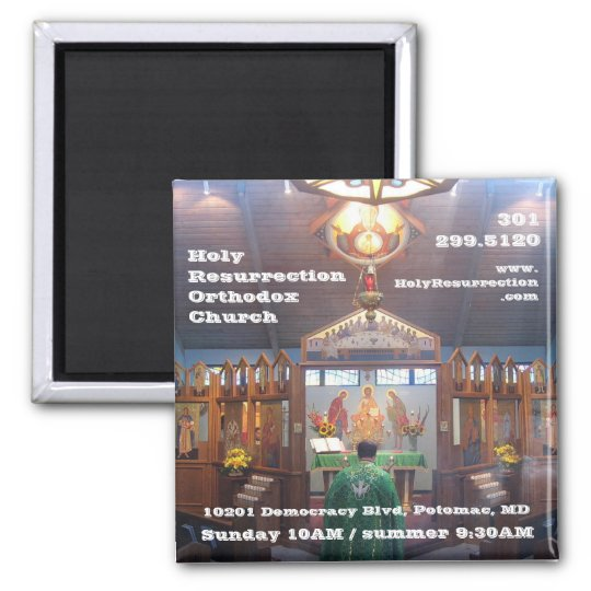 IMG_7602, HolyResurrectionOrthodoxChurch, 10201... Magnet