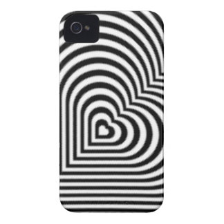 IMG_7745.PNG.customizable Heart maze design iPhone 4 Cover