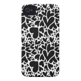 IMG_7746.PNG cute multi heart design customizable iPhone 4 Case