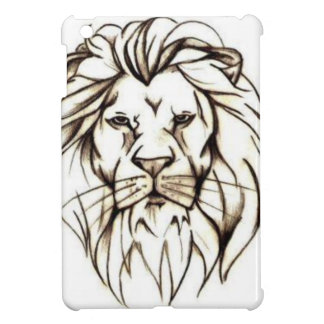 IMG_7779.PNG brave lion design Cover For The iPad Mini