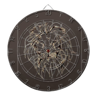 IMG_7779.PNG brave lion design Dartboard