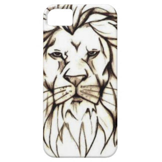 IMG_7779.PNG brave lion design iPhone 5 Cover