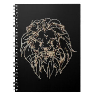 IMG_7779.PNG brave lion design Notebook