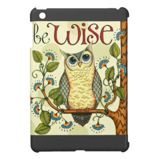 IMG_7786.PNG wise owl customizable design iPad Mini Cover